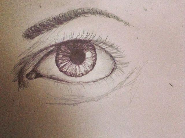 Cómo dibujar un ojo semi-Realista