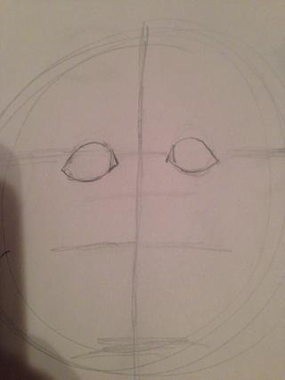 Añadir a la piel en la esquina del ojo