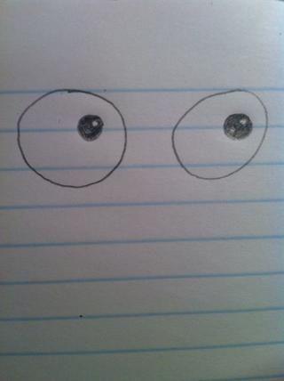 Color en el pequeño círculo, asegúrese de no dar color a los de los últimos dos círculos ...