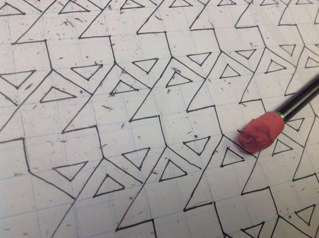 Borrar esas marcas de lápiz molestos.