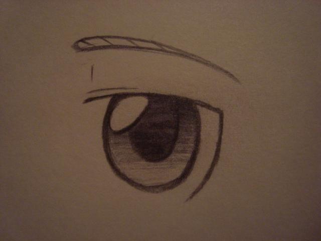 Después de eso, usted puede agregar una ceja. Usted puede dar forma a la ceja que le apetezca o puede copiar la mía.