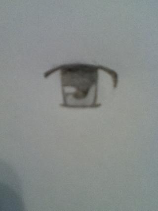 Ahora la sombra del ojo! Deja el reflejo blanco, hacen que gris divertida la forma y el color del negro resto.