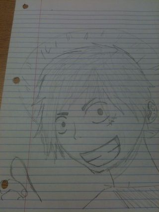 Luffy de One Piece (primer intento lol)