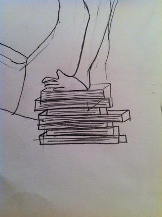 Ahora hacen los libros como 3D para hacerlos más lindo ...