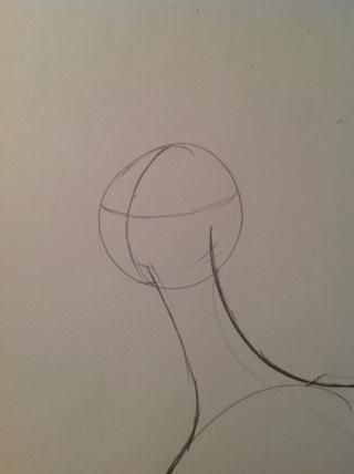 Y dibujar la cruz cara así (por lo que obtener la posición y ángulos rectos al poner en las características)