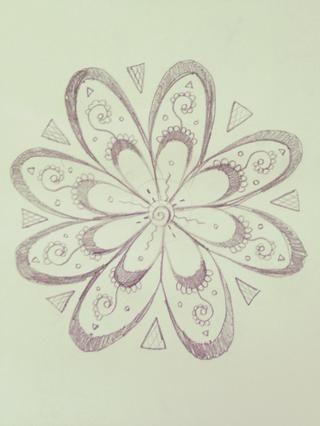 Repita, dibujo triángulos y detallando como esto!