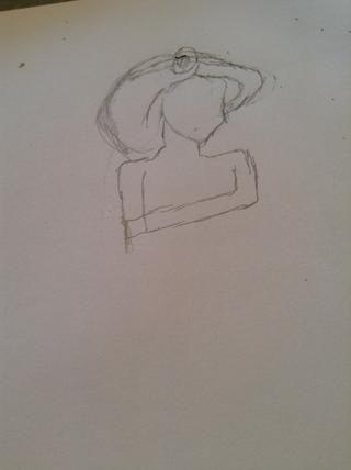 Ahora prácticamente sólo dibujar esto. Yo puedo't really explain it but it's pretty simple.