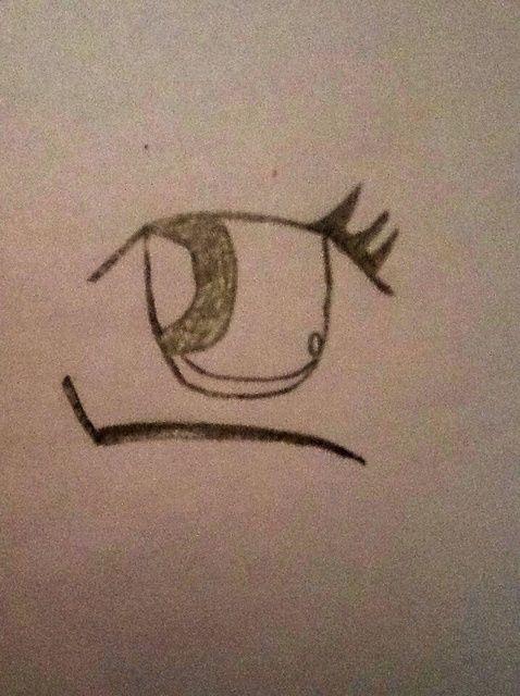 Cómo dibujar Chica Anime los ojos's ��
