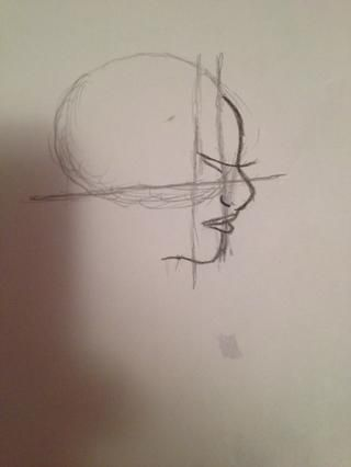 Ahora en medio de las dos líneas de dibujar una cosita swoopy siempre y cuando la pestaña, sí's supposed to be abnormally long, then add a slightly curved line below the swoop