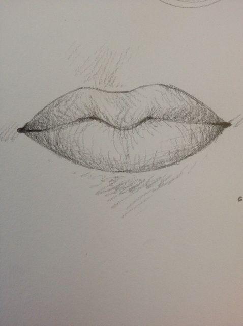 Cómo dibujar los labios