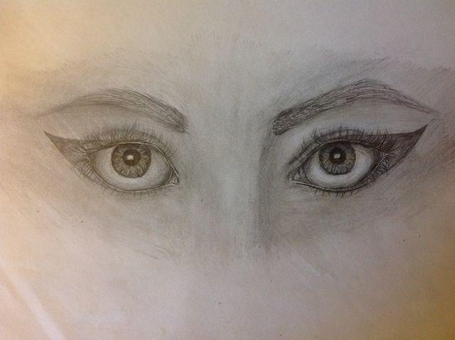Cómo dibujar ojos realistas