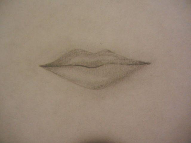 Cómo dibujar los labios realistas