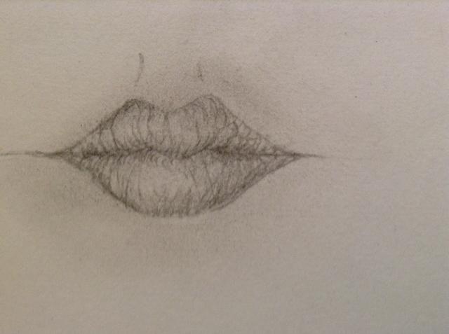 NO se olvide de sombra, donde los labios enrollamiento en. Como bajo los labios supongo!