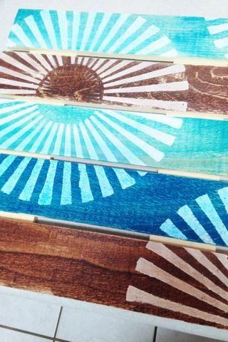 Panel de colores ... en cuenta cómo las áreas gessoed toman el color de las tintas dye. deje que se seque completamente el panel o el calor creado para acelerar el tiempo de secado.