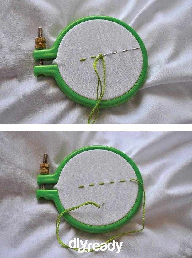 cómo bordar guía