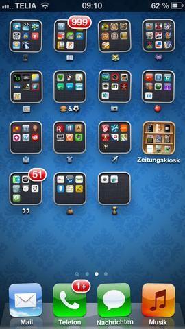 Ahora usted tiene una hermosa pantalla de inicio sin un montón de texto!