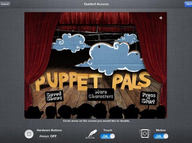 Cómo habilitar Acceso Guiado en el iPad