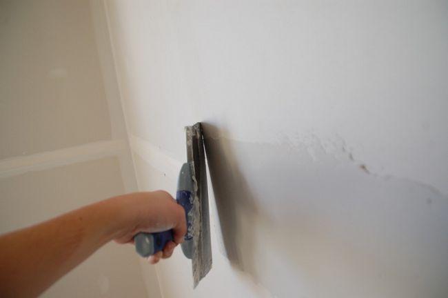 Cómo finalizar Drywall articulaciones - Swipe Uno