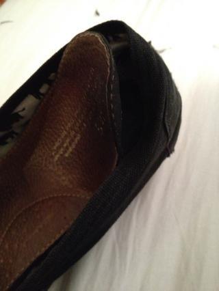 Esta es la plantilla de mi zapato estaba despegando.