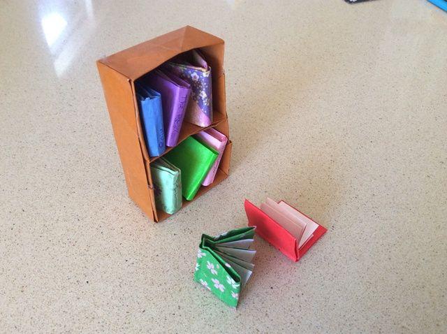 Cómo doblar un origami libro # 1