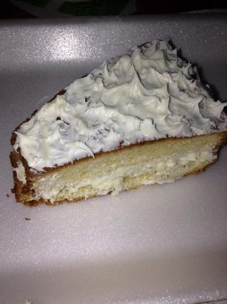Paso final: Cortar la torta y disfrutar.