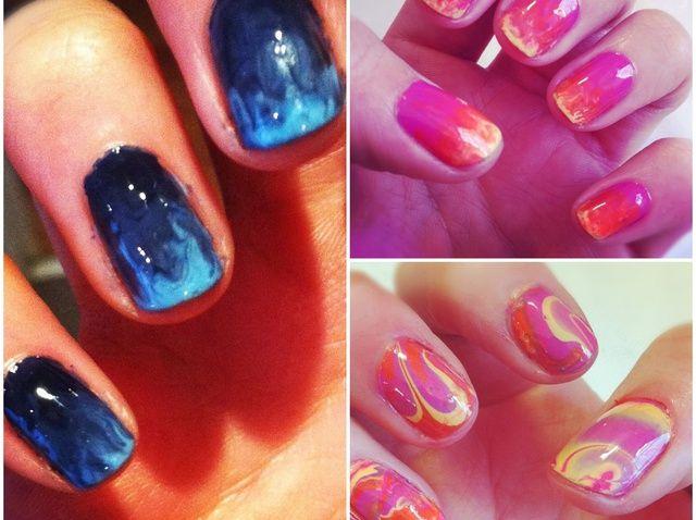 Cómo obtener Nails mármol increíble Agua