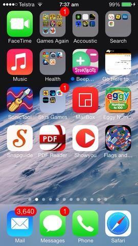 Encontré la mía con bastante facilidad, pero si usted tiene un montón de aplicaciones ...