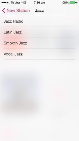 He escogido el jazz. Desde aquí se puede seleccionar un sub género