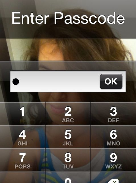Cómo conseguir más de 4 o menos de 4 código de bloqueo en el iPhone
