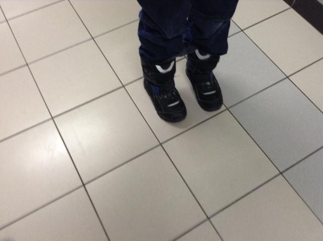 Ahora ponga las botas de invierno, pero asegúrese de que se's your size