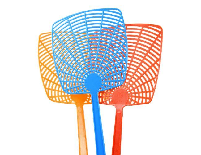 ¿Cómo deshacerse de las moscas en la Cámara - Flyswatter