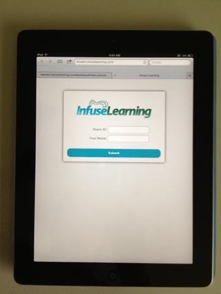En este punto, usted tendrá que obtener una segunda (estudiante) dispositivo. Esto puede ser un estudiante iPad, tableta o portátil.
