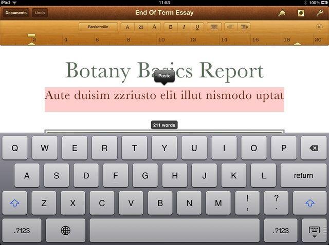 Cómo empezar con páginas en iOS (ECIS)