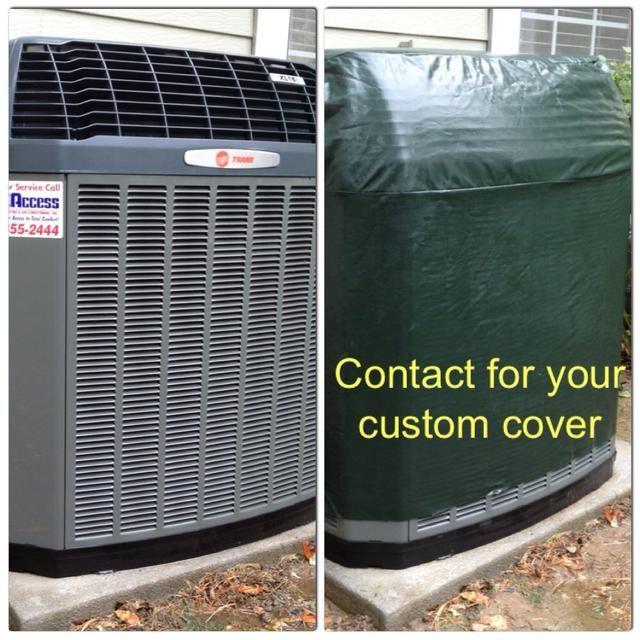A / C de la cubierta para proteger de las hojas y la lluvia / nieve. $ 155 + gastos de envío y garantía de por vida!