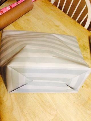 Pop abierto como una bolsa de papel.