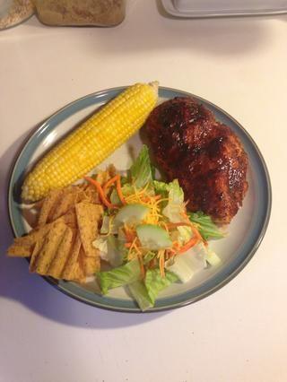 He añadido este maíz para el pollo de mi barbacoa Snapguide pollo, así que asegúrate de que tienes allí y échale un vistazo!