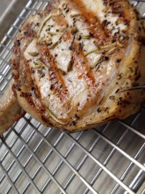 Cómo Pork Chops Grill en una receta de Alto-Shaam Horno Combi
