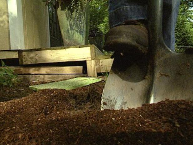 Condición del suelo para mejorar la textura y el drenaje.