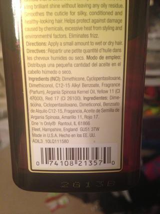 Pero asegúrese de que es todo natural si no es el primer o segundo ingrediente don't use it the first and second should be water