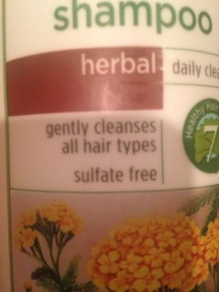 Asegúrese de que el champú es el sulfato libre. Esto es importante por lo que no hay productos químicos