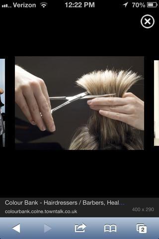 Recorte el pelo antes de hacer los siguientes pasos! (recomendado). Su pelo está muerto, sin embargo se necesita para estar sano para poder crecer. Cortar sus pérdidas!