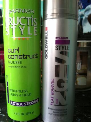 Trate de usar productos como estos para estilizar tu cabello sin utilizar calor.