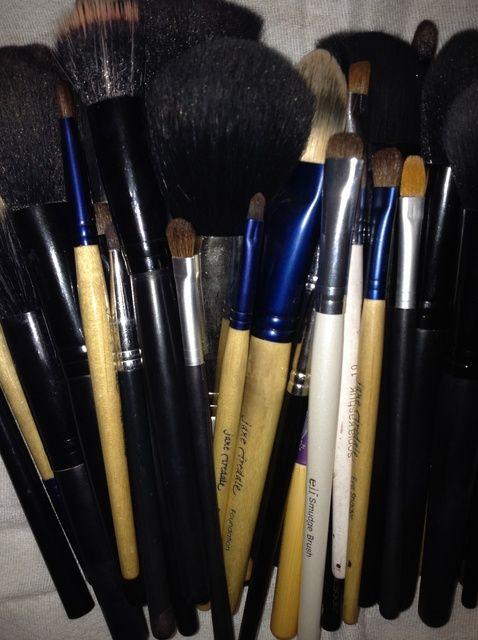 Guía de uso: Maquillaje Pincel Nombres y Usos
