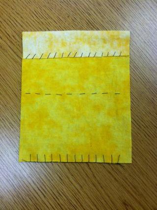 Frente Acabado: Asegúrese de los puntos están en los lugares adecuados en la muestra, y que los puntos son aún y ordenada.