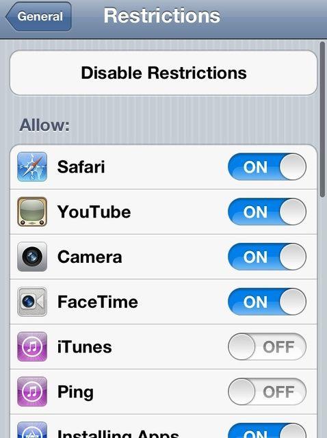 Cómo ocultar aplicaciones por defecto en tu iPhone / iPad