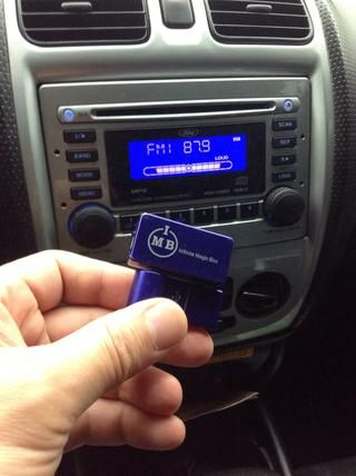 Utilice el transmisor FM Transmitter iPhone AFM