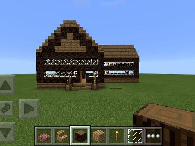 Cómo Cómo construir una Casa Básica en MCPE