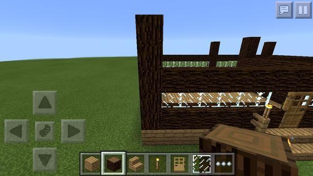 He decidido añadir otro bloque de madera de abeto de las torres.