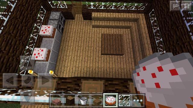 Esta es la primera sala en la que estaría en cuando entras esta casa. Lo hice como una especie de combinación de una cocina y sala de estar, pero s de gruesa puedes poner lo que quieras en ella ??????