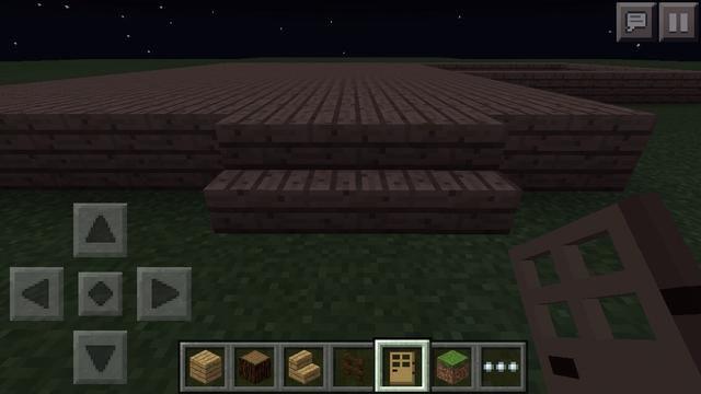 Ponga tres escaleras de madera de roble en la parte frontal de la forma.
